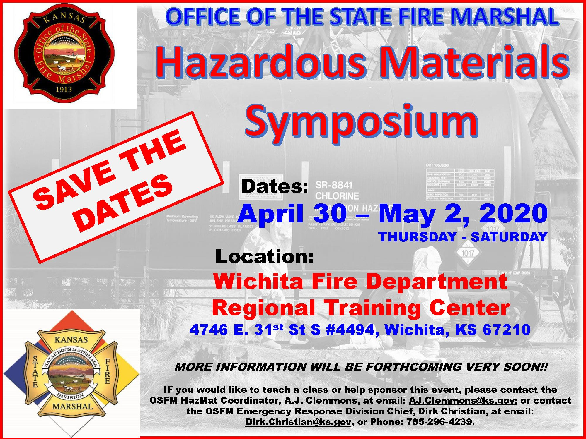 OSFM HazMat Symposium Save the Date_2020