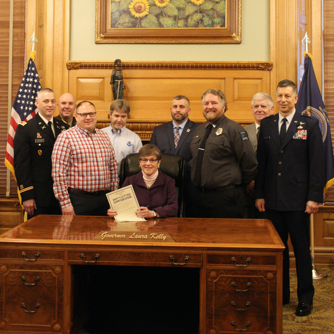 2020 Wildfire Awareness Week Proclamation Signing